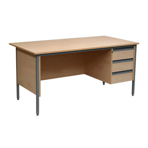Teacher's Desks w1200 x d745 x h720 mm Teacher's Single Pedestal Desk w1200 x d745 x h720 mm