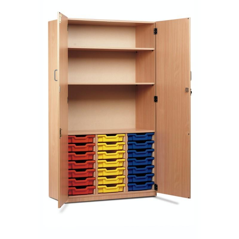 Tray Unit 21 Tray Storage Cupboard