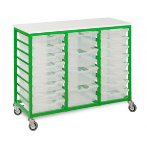 Tray Unit 24 Tray Mobile Metal Unit