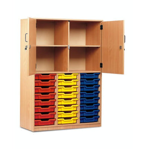 Tray Unit 24 Tray Storage Cupboard