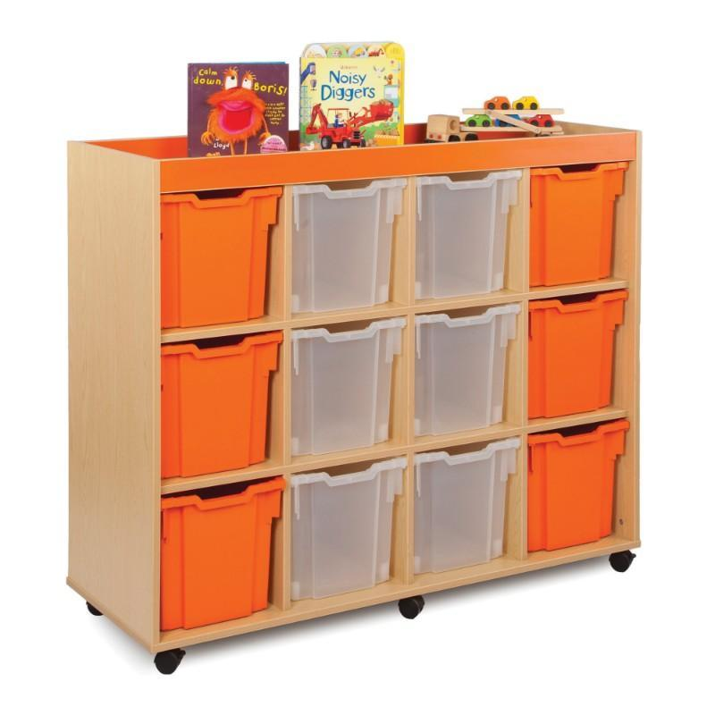 Tray Unit Candy Colours 12 Jumbo Tray Unit