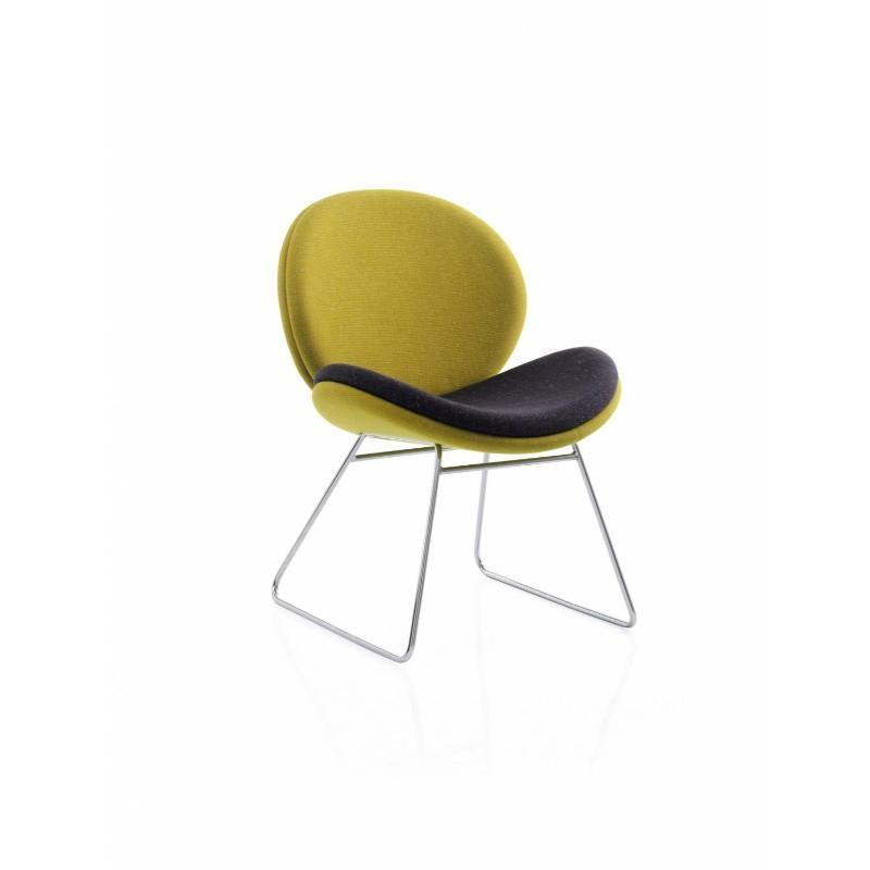 tub style chair Chair with Skid Base Wave Chair Chair with Skid Base