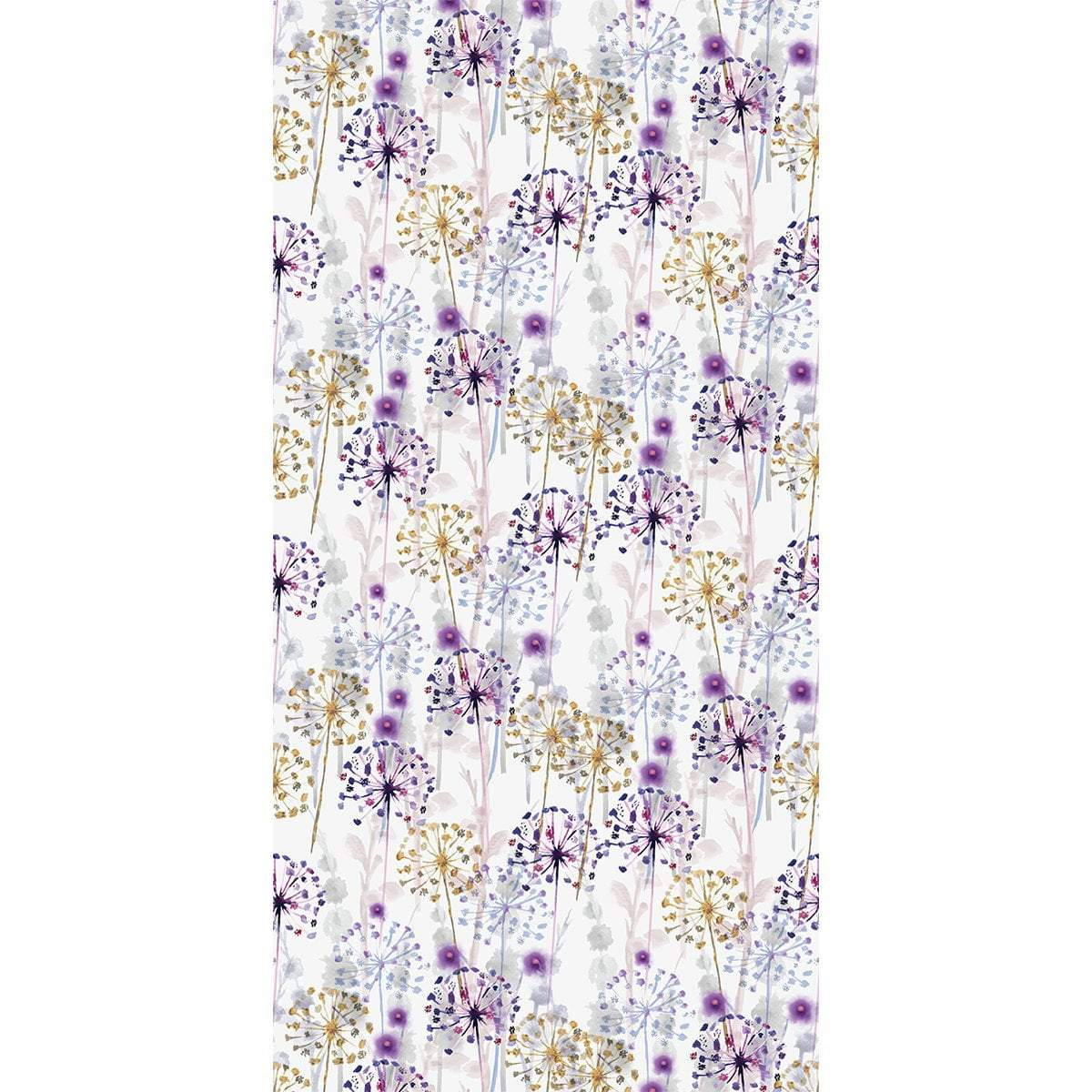 Wall Acoustics Botanical  Pansies Muffle Pattern - Botanical Botanical  Pansies