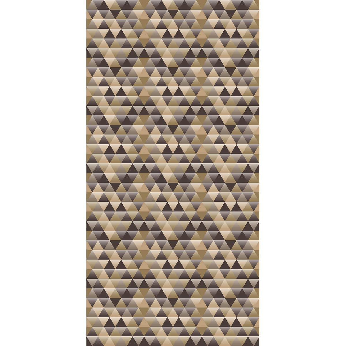 Wall Acoustics Bronze Muffle Patterns - Triangle