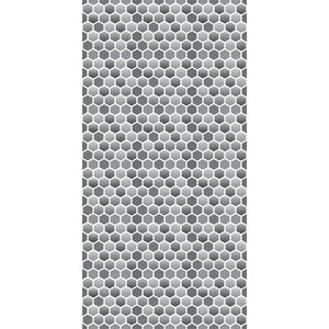 Wall Acoustics Charcoal Muffle Patterns - Hexagon