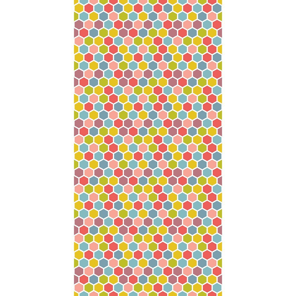 Wall Acoustics Colours Muffle Pattern - Hexagonal Colours