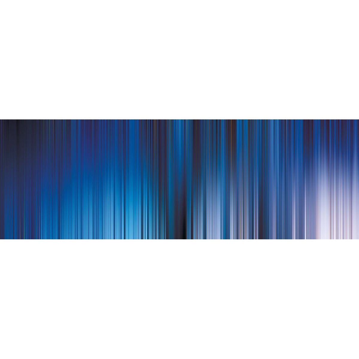 Wall Acoustics Full Size Mural Muffle Abstract Mural - Kinetic Blue Full Size Mural