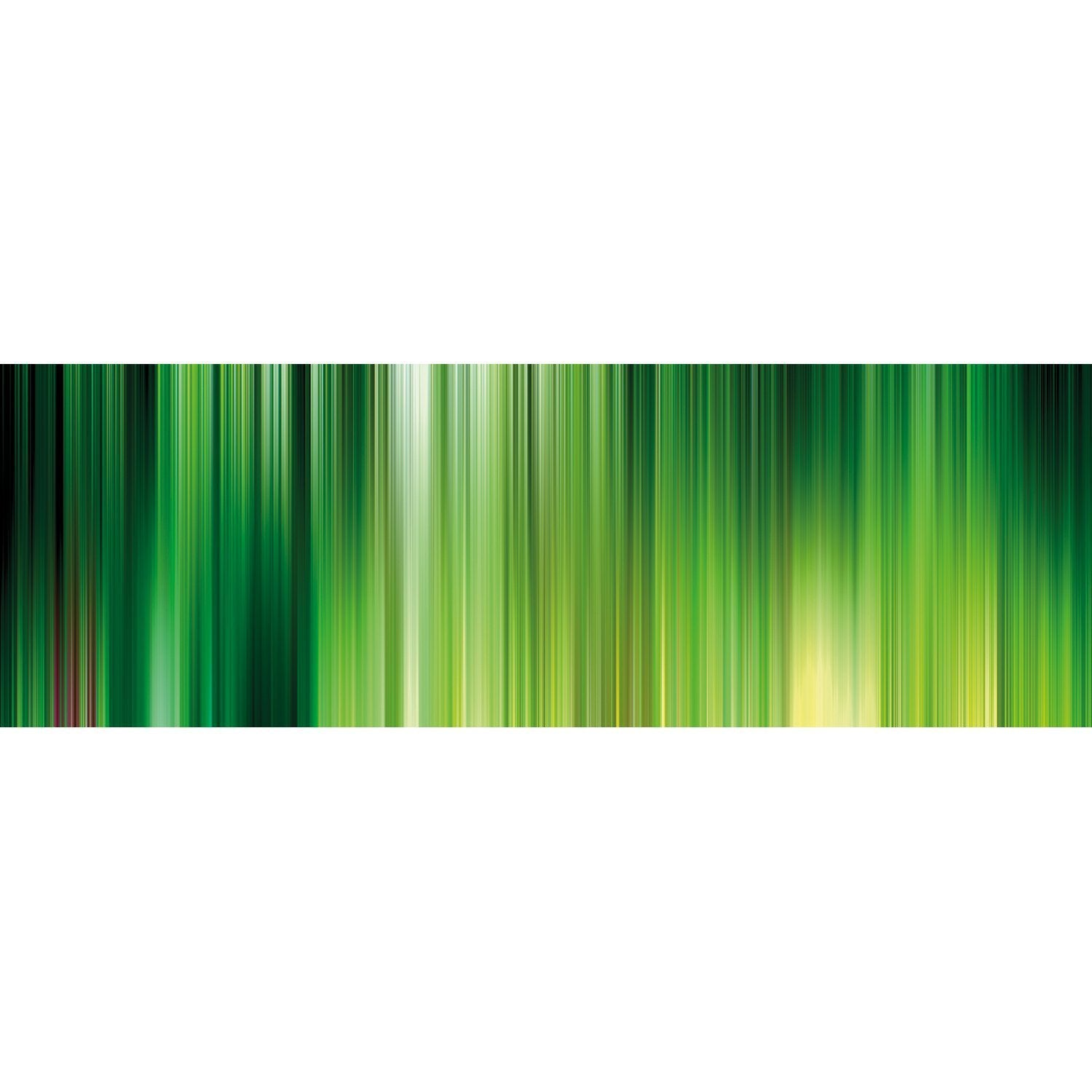 Wall Acoustics Full Size Mural Muffle Abstract Mural - Kinetic Green Full Size Mural