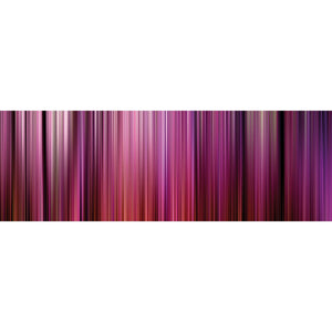 Wall Acoustics Full Size Mural Muffle Abstract Mural - Kinetic Pink Full Size Mural