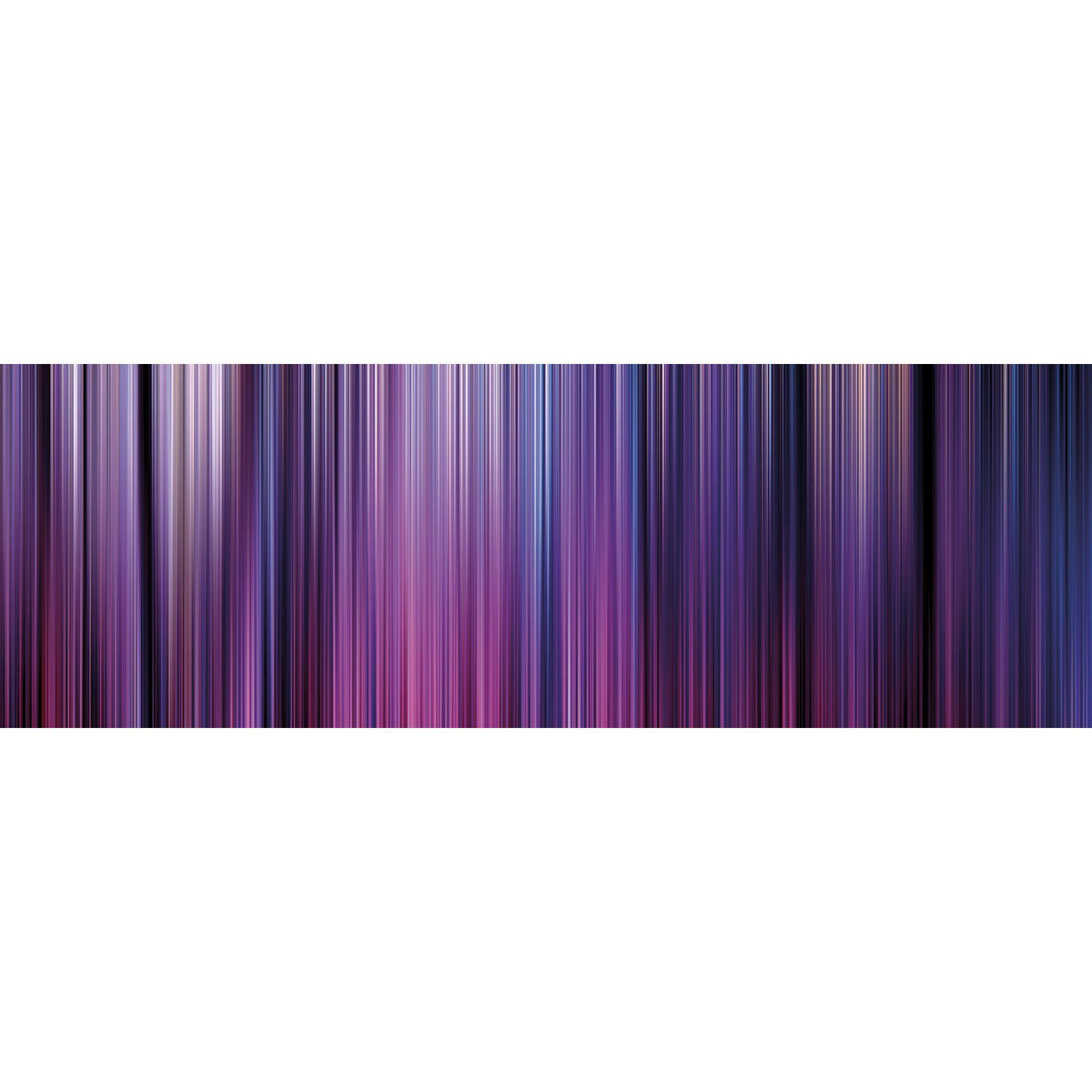 Wall Acoustics Full Size Mural Muffle Abstract Mural - Kinetic Purple Full Size Mural