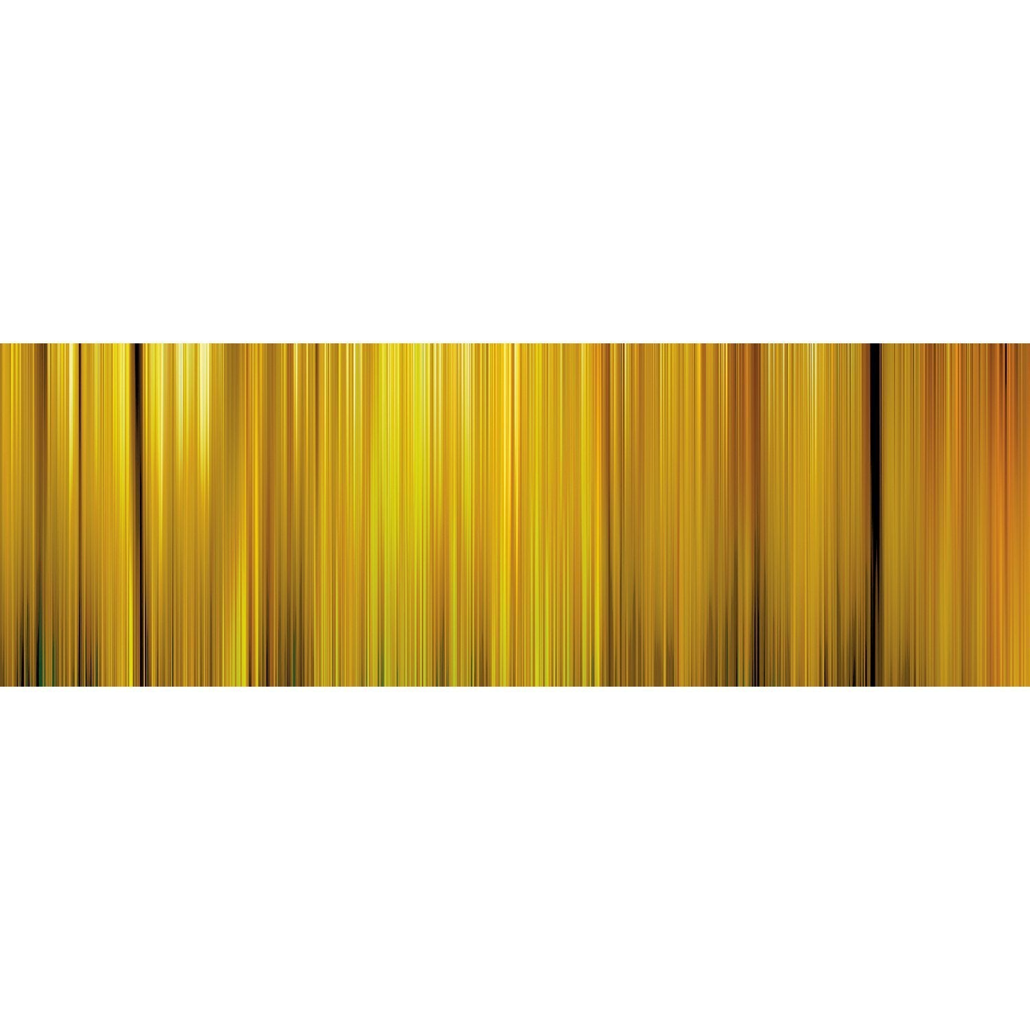 Wall Acoustics Full Size Mural Muffle Abstract Mural - Kinetic Yellow Full Size Mural