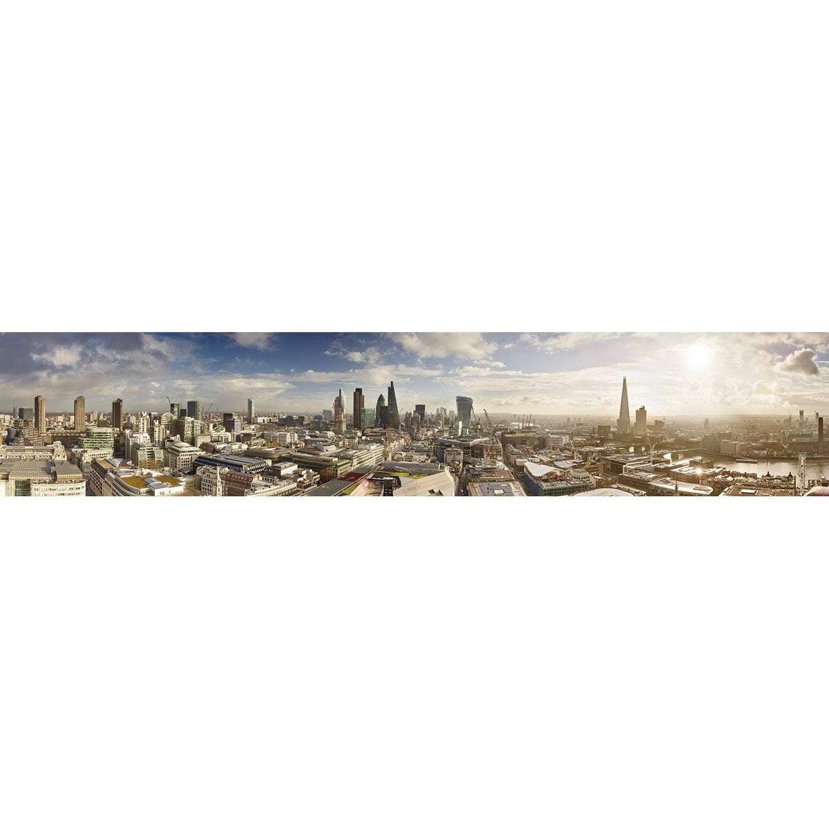 Wall Acoustics Full Size Mural Muffle Mural - London Skyline, Day Full Size Mural
