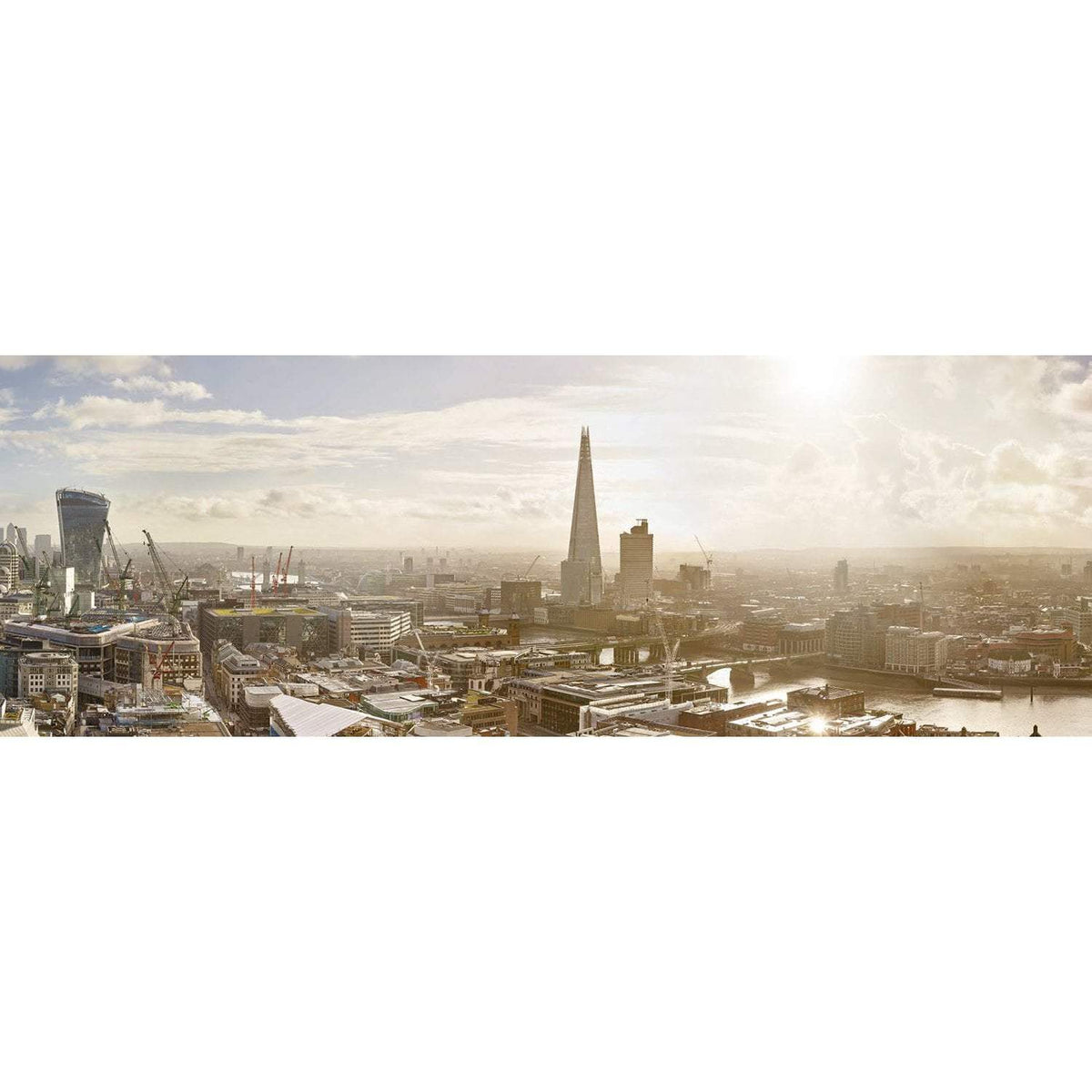 Wall Acoustics Muffle Mural - London Skyline, Day
