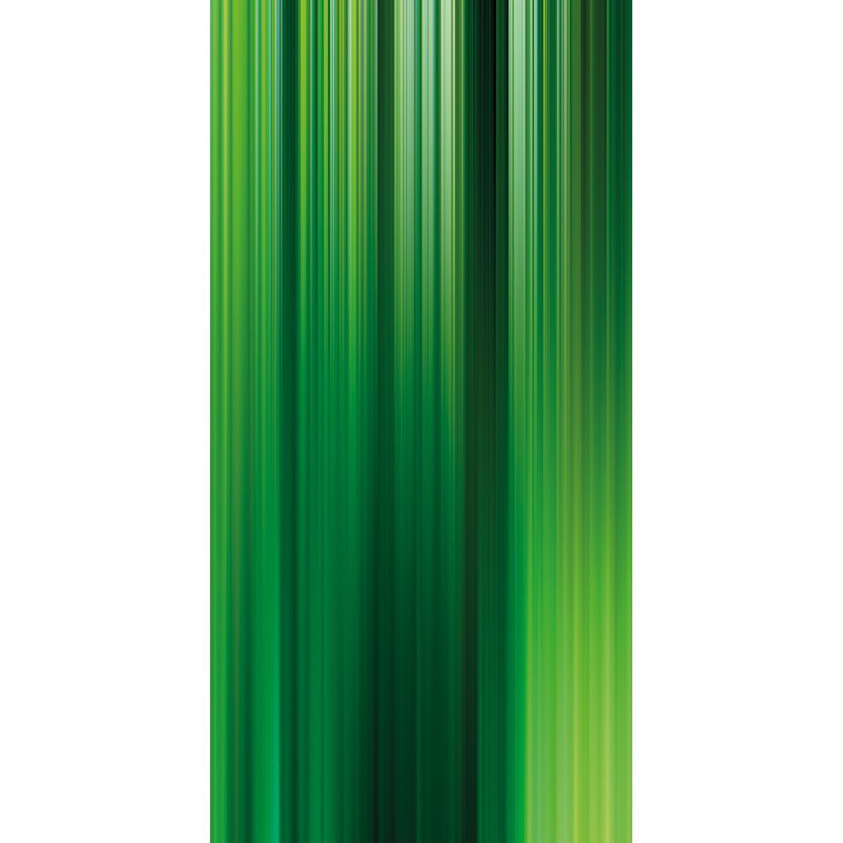 Wall Acoustics Panel 2 Muffle Abstract Mural - Kinetic Green Panel 2