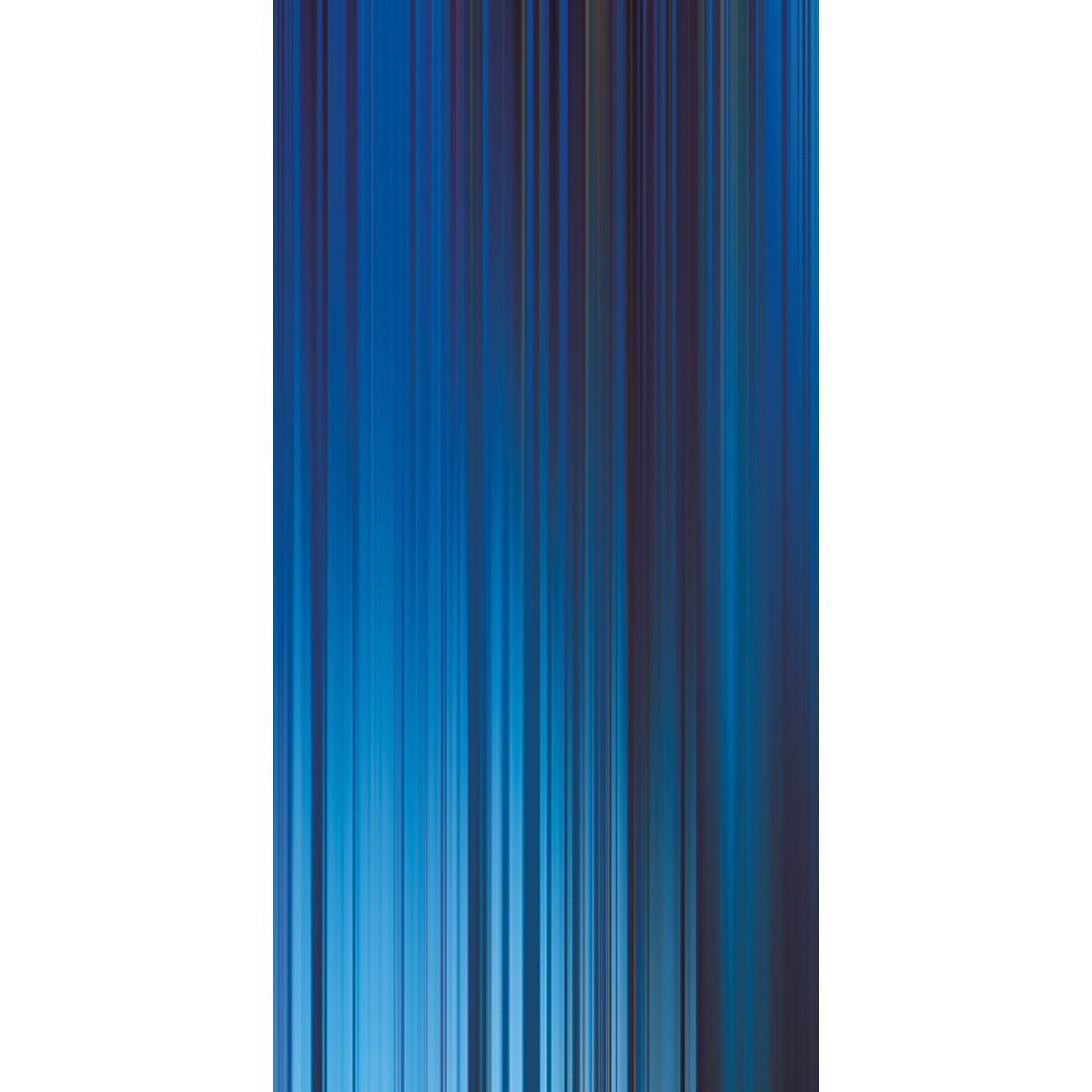 Wall Acoustics Panel 3 Muffle Abstract Mural - Kinetic Blue Panel 3