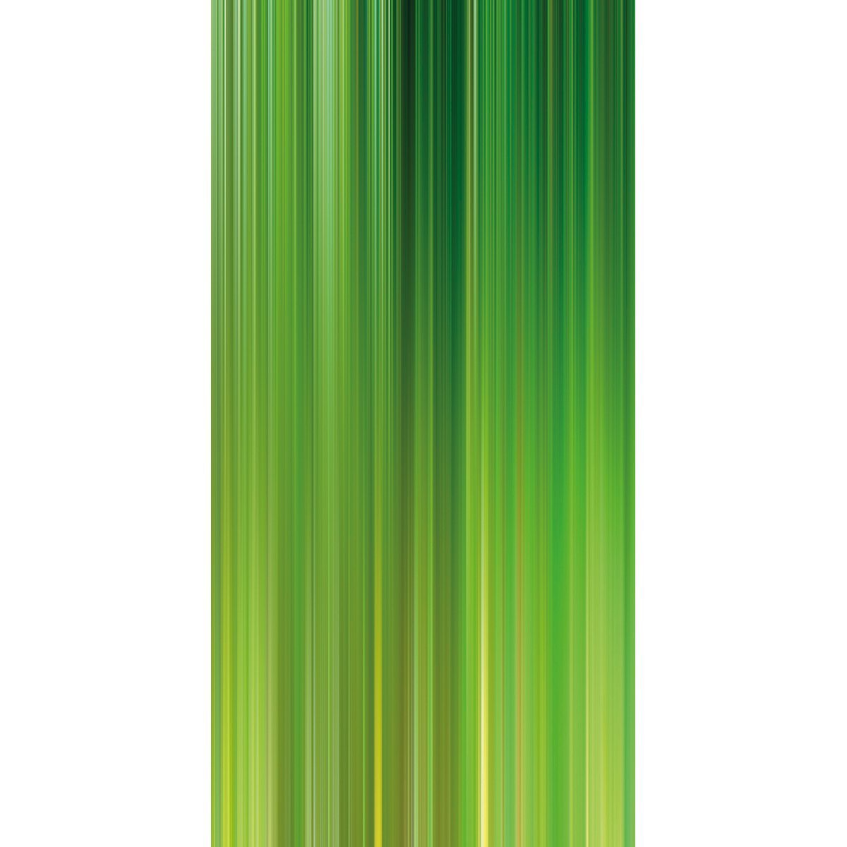 Wall Acoustics Panel 4 Muffle Abstract Mural - Kinetic Green Panel 4