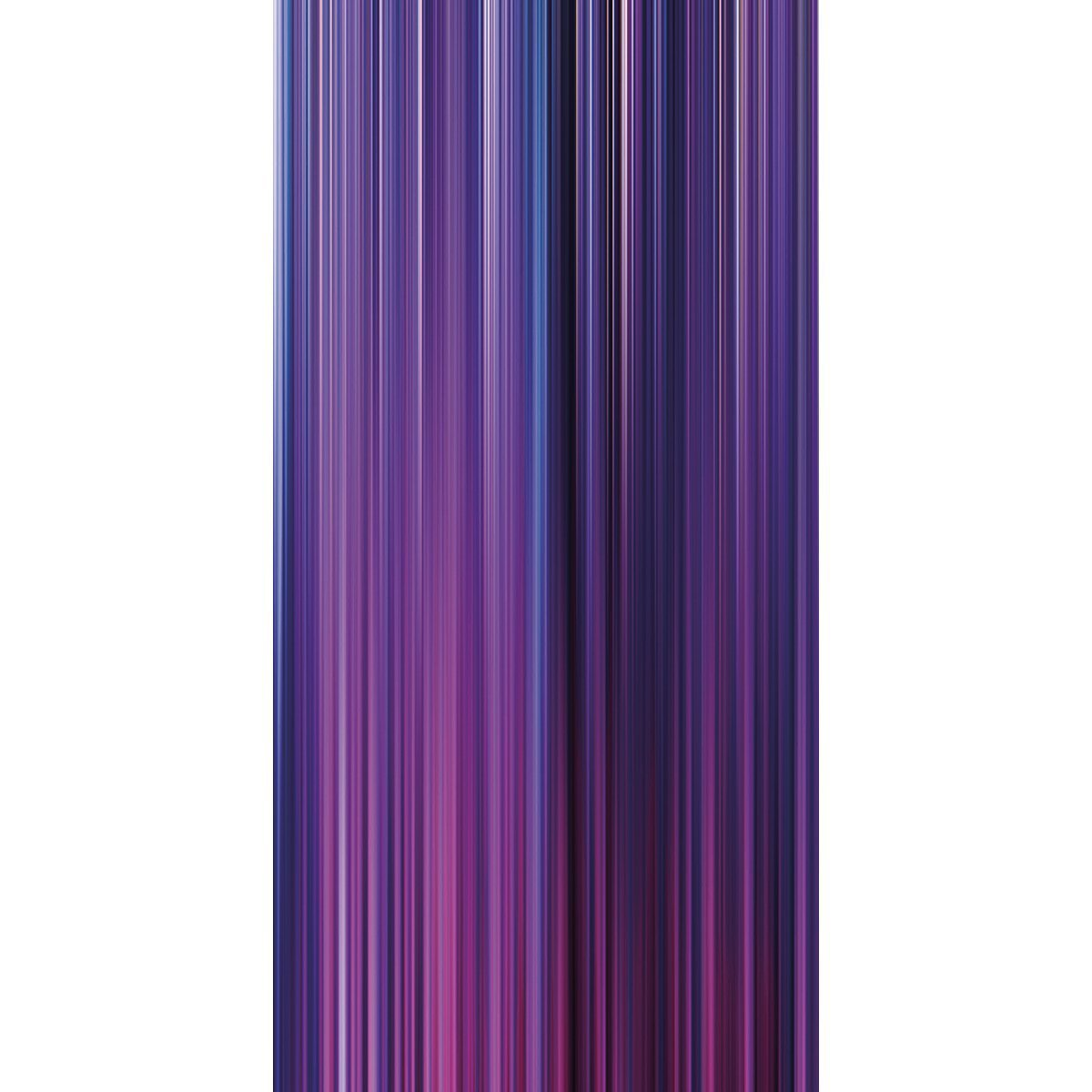 Wall Acoustics Panel 4 Muffle Abstract Mural - Kinetic Purple Panel 4