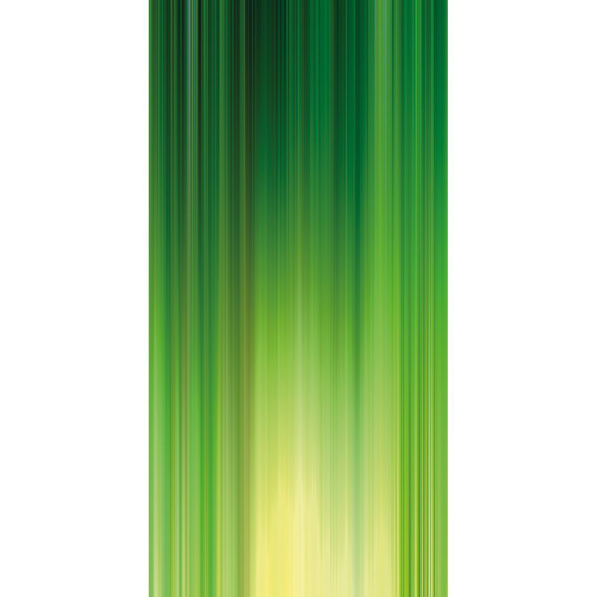 Wall Acoustics Panel 5 Muffle Abstract Mural - Kinetic Green Panel 5
