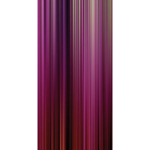 Wall Acoustics Panel 5 Muffle Abstract Mural - Kinetic Pink Panel 5