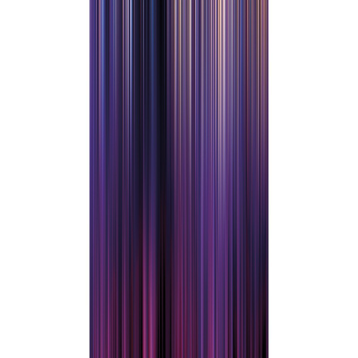 Wall Acoustics Panel 5 Muffle Abstract Mural - Kinetic Purple Panel 5