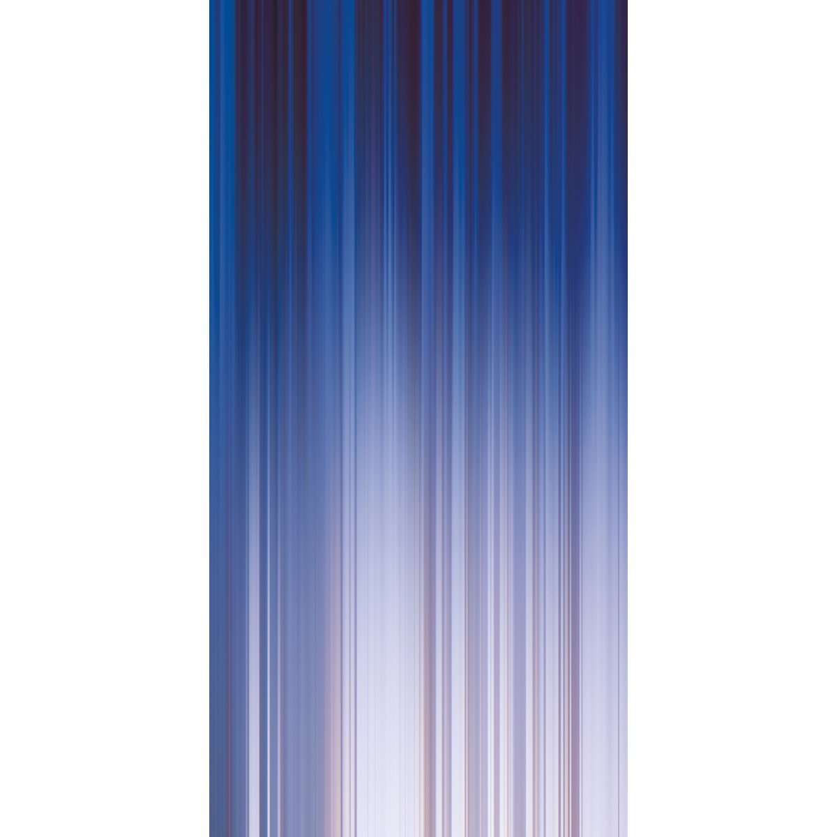 Wall Acoustics Panel 6 Muffle Abstract Mural - Kinetic Blue Panel 6