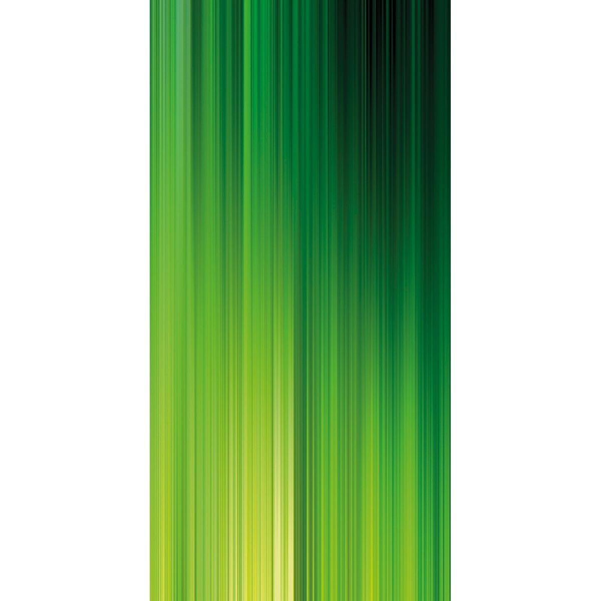 Wall Acoustics Panel 6 Muffle Abstract Mural - Kinetic Green Panel 6