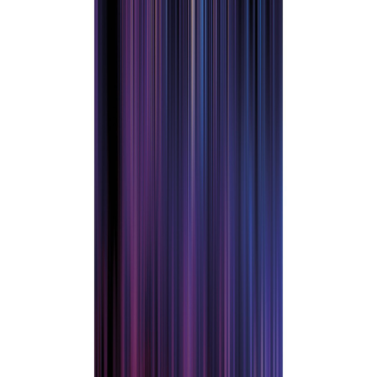 Wall Acoustics Panel 6 Muffle Abstract Mural - Kinetic Purple Panel 6