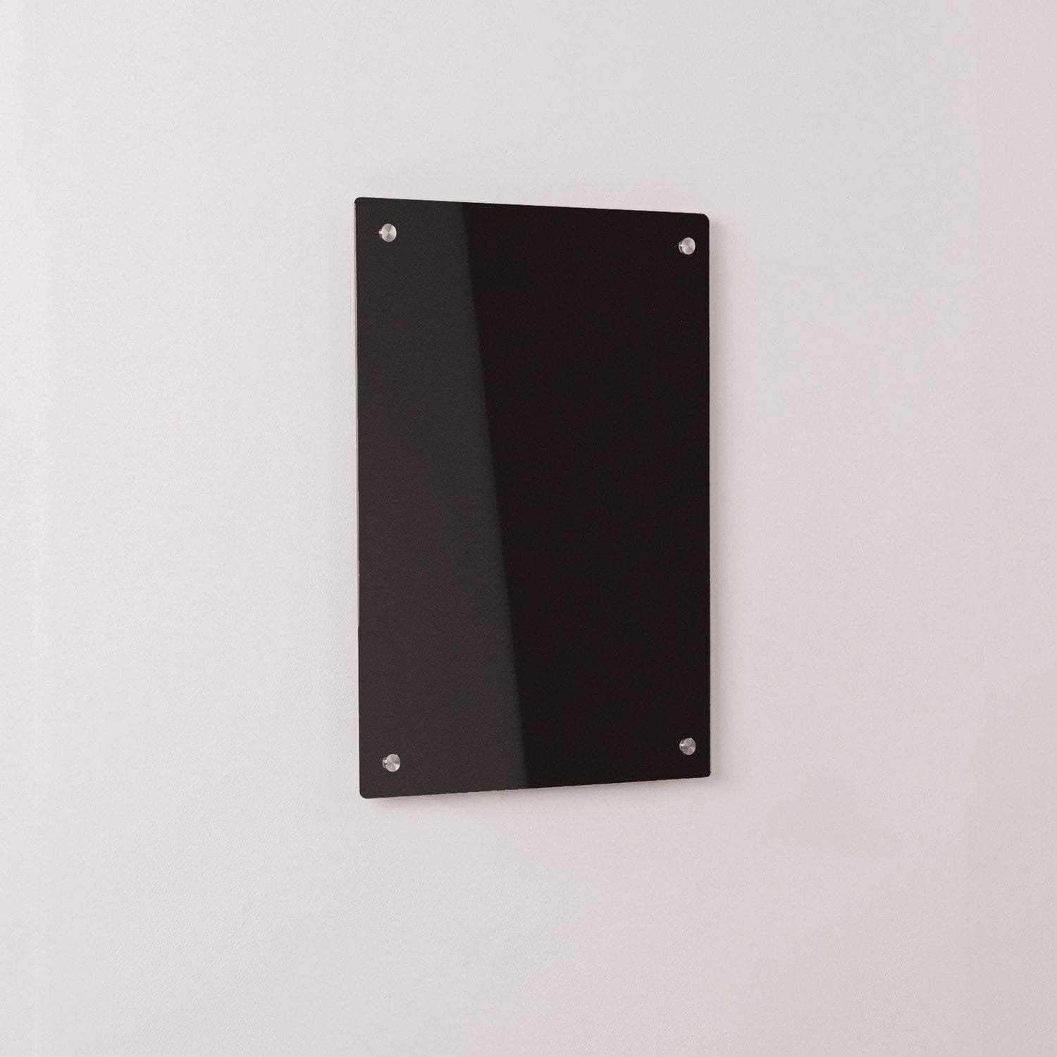 whiteboards w500 x h500 mm Coloured Glass Information Boards w500 x h500 mm