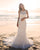 2018 Summer Beach Wedding Dresses Mermaid Open Back Simple Lace Wedding Gowns New Style