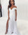 Popular White Lace Sheath Beach Wedding Dress Cheap Cap Sleeve Plus Size Bridal Gown Split