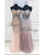 Strapless See Through Mermaid Lace Prom Dress 2020