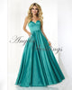 Elegant Long Prom Dresses Sweetheart Chapel Train 2018