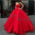 New Arrival 2020 Gorgeous Ball Gown Organza Prom Dresses Floor Length