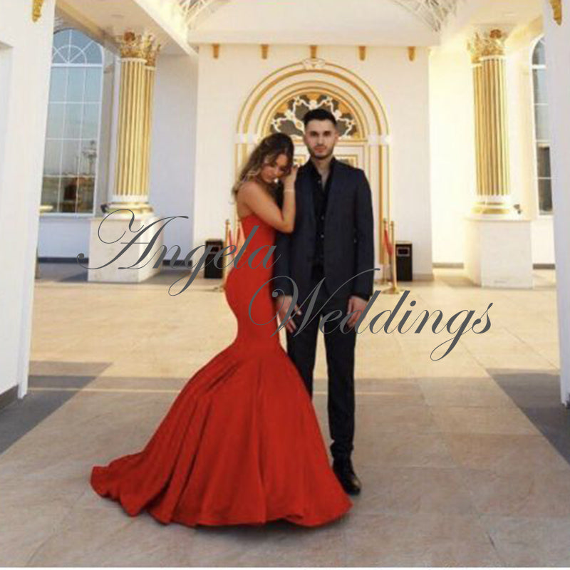 dc8373047eb Delicate Mermaid Prom Dresses 2018 Long Evening Gown – angelaweddings