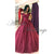 Burgundy Prom Dresses 2018 Tulle Lace Prom Gowns with Flowers
