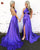 Simple Purple Prom Dresses 2020 Halter New Elastic Satin Long Prom Party Gowns with Slit