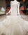 Sexy Ivory Mermaid Wedding Dresses 2018 Organza Ruffles Cap Sleeves Bridal Gowns Real