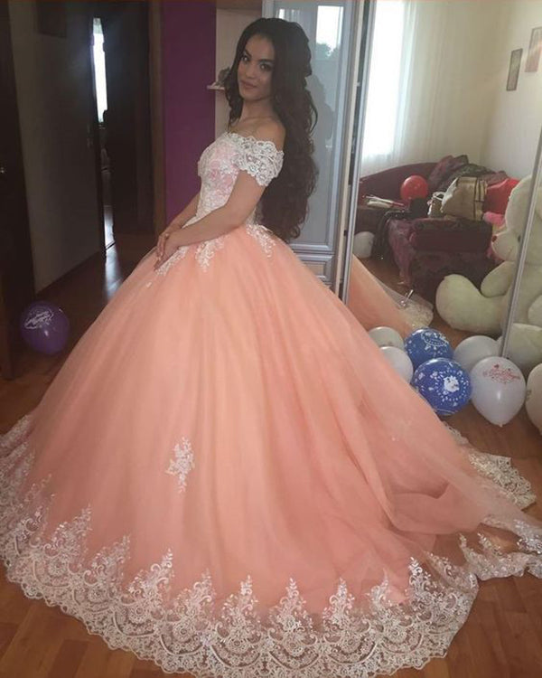 Buy Dresses quinceanera coral and white pictures trends