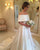 Simple Satin Wedding Dresses 2018 Fashion Cap Sleeve Modest Bridal Wedding Gowns