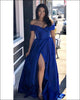 prom-dresses-2018 new-prom-dress fashion-2018-prom-dresses 2018-prom-dresses-royal-blue prom-dresses-split prom-dresses-v-neck prom-dresses-beadings long-prom-dresses satin-prom-dresses-long