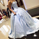 Simple Satin Ball Gown Quinceanera Dresses Sweetheart 2018 Fashion Sweet 16 Dress Quinceanera