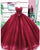2018 Sparkly Burgundy Quinceanera Dresses Beaded Pearls Sweet 16 Dress vestidos de quinceañera