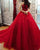 2018 Dark Red Quinceanera Dresses with Halter Neckline Puffy Tulle Lace Vestidos de quinceañera Sweet 16 Dress