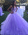 Lilac Princess Ball Gown Quinceanera Dress 2018 Sweet 16 Dresses Beaded Sequins Puffy Tulle Ruffles Vestidos De 15