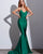 Sexy Green Mermaid Prom Dresses 2018 New Popular Silk Like Satin Prom Party Gowns Backless