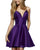 sherrihill-52379-purple-1-Dress homecoming-dresses short-prom-dress v-neck-cocktail-dress satin-graduation-dress mini-length-prom-gowns