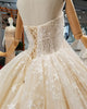 Luxury 2018 Ball Gown Wedding Dresses with Stars Sparkly Bridal Wedding Gowns