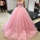 pink-prom-dresses quinceanera-dresses-party sexy-prom-dress