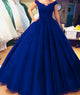 quinceanera-dresses-royal-blue lace-prom-dresses ball-gowns puffy-quinceanera-dresses