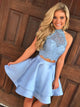 homecoming-dresses-2018 homecoming-dresses-2k18 graduation-dresses party-dress prom-gowns homecoming-dresses-light-blue homecoming-dresses-short homecoming-dresses-sexy homecoming-dresses-lace two-piece-prom-dresses homecoming-dress-halter